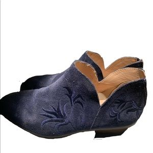 Blue Boots USED!! Cole Haan